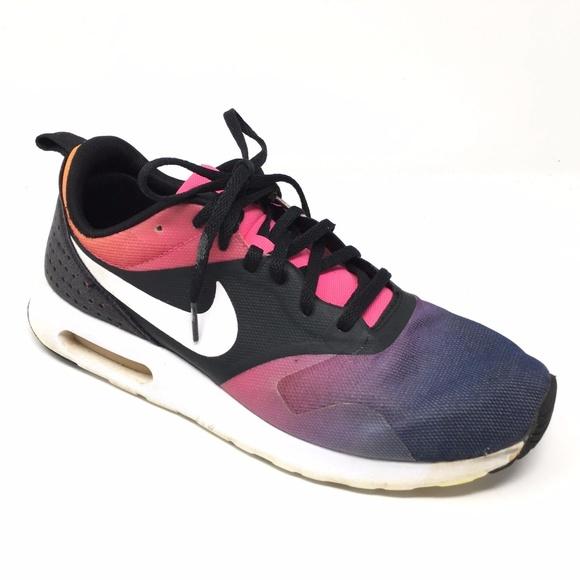 Women's Nike AirMax Tavas Sunset Rainbow Shoe Sz 9